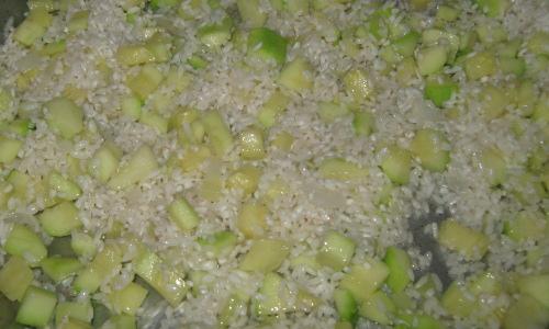 рецепта за тиквички с ориз