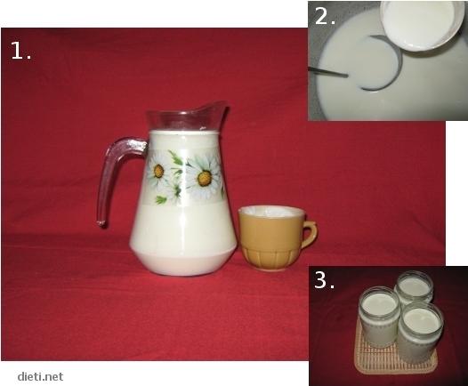 Кисело мляко - рецепта