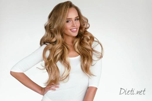 Диета за хубава коса