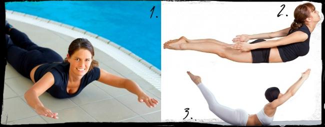 Упражнения за укрепване на гърба