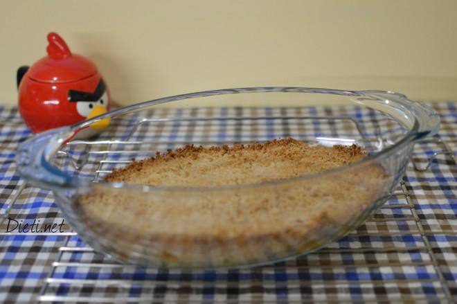 Хрупкав десерт с ябълки