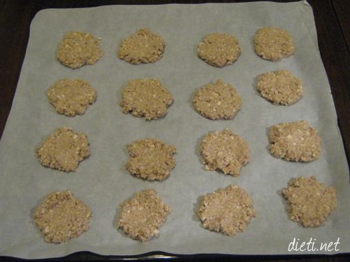 Протеинови бисквити с овесени ядки
