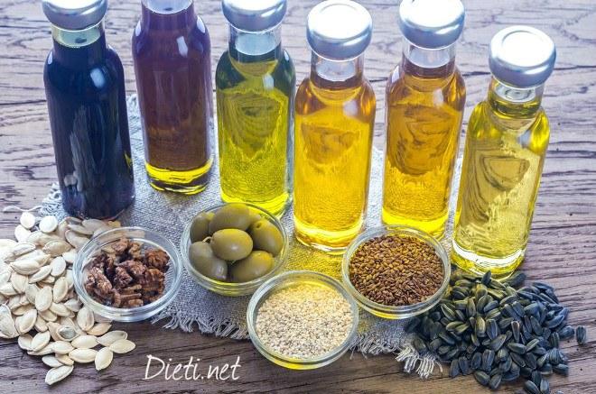 5 полезни растителни масла