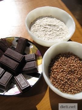 Шоколад и елда