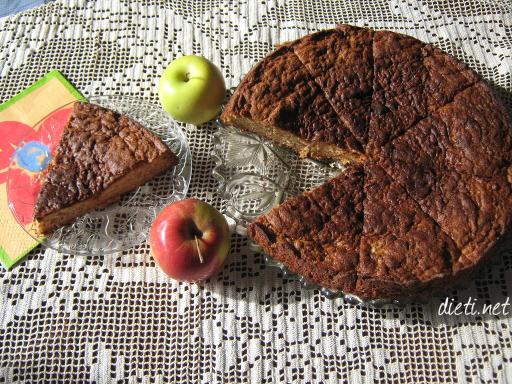 Ябълков сладкиш с канела