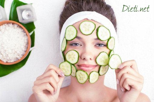 Освежете лицето със зеленчукови маски