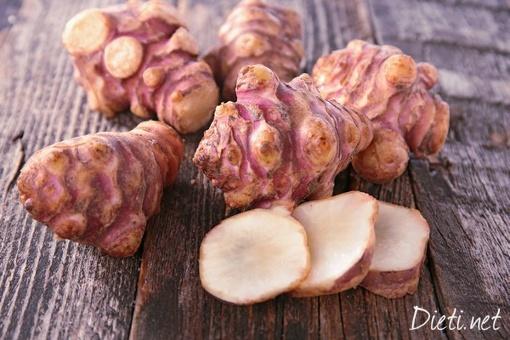 Лечебните свойства на земната ябълка (гулия)