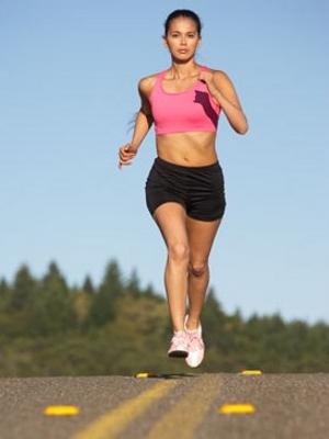 Отслабнете с тичане