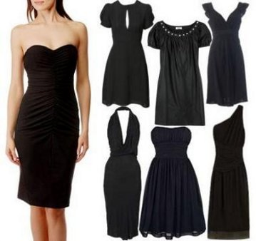 """Диета за отслабване """"Малка черна рокля"""""""