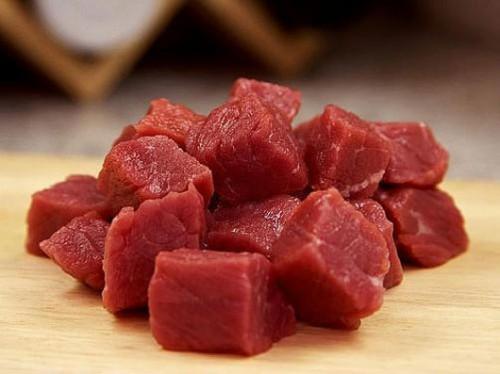 желязо в месото