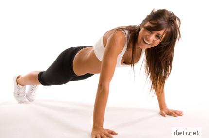 Упражнения за стегнат бюст