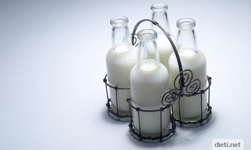мляко, богато на калций
